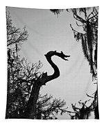 Dragon Shaped Tree Tapestry