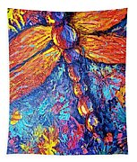 Dragonfly F Tapestry
