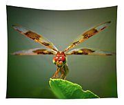 Dragonfly Pitstop Tapestry