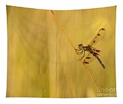 Dragonfly Pole Dance Tapestry
