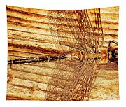 Dragonfly Sepia Tapestry
