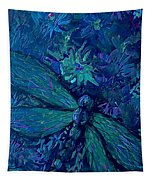 Dragonfly Series C  Tapestry