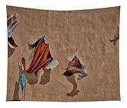 Dragons In The Railyard - Santa Fe #2 Tapestry