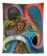 Dragons Three Tapestry