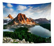 Drama Of The Canadian Rockies 3 Tapestry