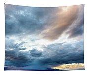 Drama Over Mt. Graham Tapestry