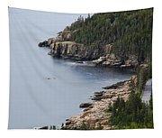 Dramatic Maine Coastline Tapestry