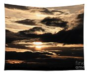 Dramatic Sunset Tapestry
