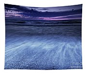 Dramatic Sunset Scenery Of Lake Huron Tapestry