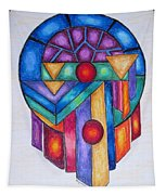 Dream Catcher Abstract Tapestry