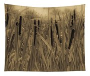 Dreaming Of Cattails Tapestry