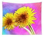 Dreaming Of Dandelions Tapestry