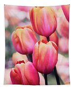 Dreaming Tulips Tapestry