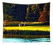 Dreams Can Fly Paint Tapestry
