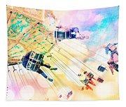Dreamy Pastel Carnival Tapestry