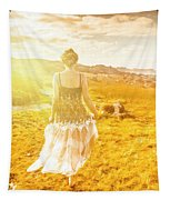 Dreamy Summer Fields Tapestry