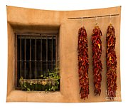 Dried Chilis And Window Tapestry