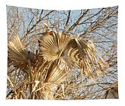 Dried Palm Fronds In The Wind Tapestry