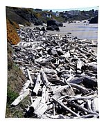 Driftwood By The Ton Tapestry