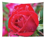 Dripping In Beauty - Double Knock Out Rose Tapestry