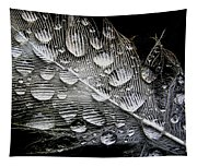 Drops On A Feather Tapestry