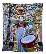 Drummer Boy  In Rockefeller Center Tapestry