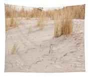 Dry Dune Grass Plants Tapestry