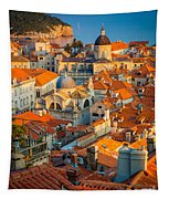 Dubrovnik Sunset Tapestry