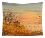 Duck Hunting Calls Tapestry