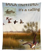 Duck Hunting-jp2783 Tapestry