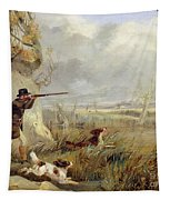 Duck Shooting  Tapestry