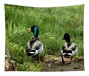 Duck Talk At Frankenmuth Michigan Tapestry
