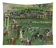 Dufy: Race Track, 1928 Tapestry