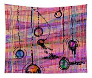 Dunking Ornaments Tapestry