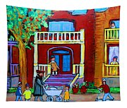 Durocher Street Montreal Tapestry