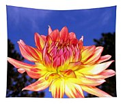 Dusk And A Dahlia Tapestry