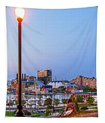 Dusk At Federal Hill Tapestry