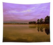 Dusk At Lake Murray Sc Tapestry