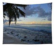 Dusk Beach Tapestry