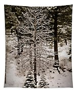 Dusk In The Sierras Tapestry