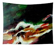 Dying Swan-abstract Tapestry