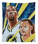 Dynamic Duo - Durant And Curry Tapestry