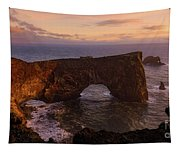 Dyrholaey Arch Tapestry