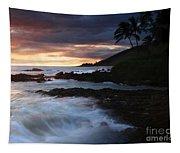 E Hamau O Makani Mai Auanei Aloha Paako Tapestry