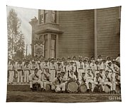 Eagle Band's Drum Corps. Native Sons Of The Golden West  Circa 1908 Tapestry