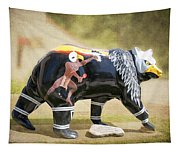 Eagle Dancer Bear Tapestry