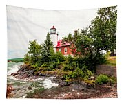 Eagle Harbor Lighthouse No 2 Tapestry