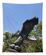 Eagle Statue  Tapestry