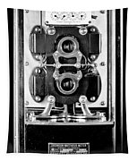Early 1900s Type Cs Watthour Meter In Black And White Tapestry