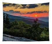 Blue Ridge Parkway Sunrise - Beacon Heights - North Carolina Tapestry